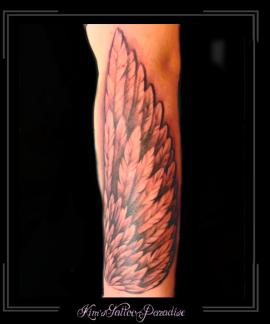 vleugelsverenonderarm