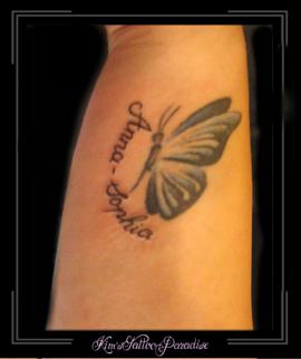 vlinder en naam