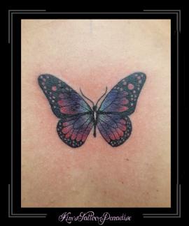 vlinder rug