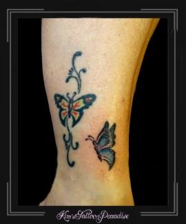 vlinders enkel