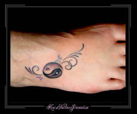 yin yang voet