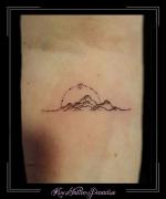 bergen zon ster onderarm