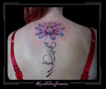 bloemen lotus rug namen