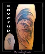 coverup adelaar bovenarm
