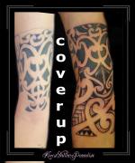 coverup maori polinesisch polynesisch arm