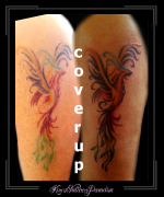 coverup phoenix bovenarm