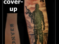 coverup soldaat defensie helikopter onderarm