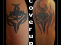 coverup tribal tribel bovenarm