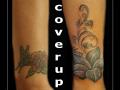 coverup,bloemen,lelie,naam,namen,pols,
