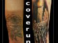 coverup,kaars,vlam,kleur,handen,hand,onderarm,