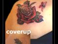 coverup,lieveheersbeestjes,lhb,roos,blad,bloem,schouder