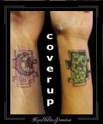 coverup,minecraft,creeper,video,game,