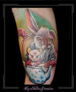 disney, alice in wonderland, konijn, dier, muis, theepot, portret