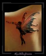 elf fee vleugels schouder
