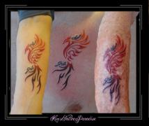 family tattoo phoenix