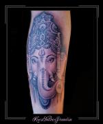 ganesha olifant hindoeisme onderarm god