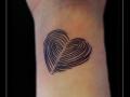 hart pols vingerafdruk