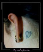 hartje achter het oor