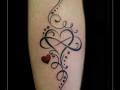 hart,krullen,kriebels,onderarm,