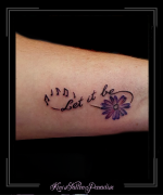 infinity,bloem,muzieksleutels,tekst,onderarm,