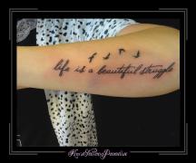 Tattoo dreamcatcher dromenvanger onderarm veer - Vogels Kim S Tattoo Paradise Page 2