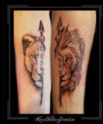 love,liefde,familie,leeuw,leeuwin,onderarm,datum,