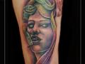 medusa ,phorcys,griekse mythologie,slangen,vrouw,portret,bovenbeen,