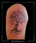 namen tree of life boom wortels bovenarm