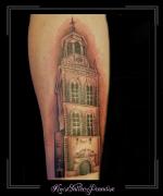 nieuwe toren, kampen, onderarm,