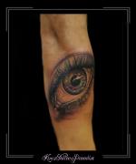 oog onderarm