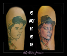 portret coverup valentino rossi motorcoureur