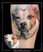 portret hond dier watercolor1