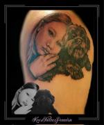 portret meisje en hondje2