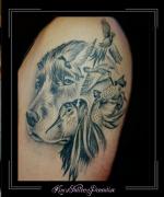 portret,hond,fazanten,vogels,jacht,bovenarm,