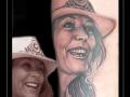 portret,moeder,vrouw,