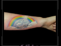 regenboog wolken tekst