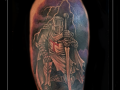 ridder harnas kruisridder tempelier bovenarm