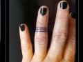 ring band vinger