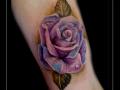 roos rozen bloemen bovenarm blaadjes blad