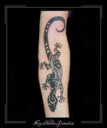 gekko hagedis maori onderarm