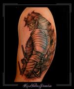 samourai,japans,chinees,vechter,bovenarm,
