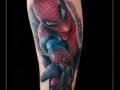 spiderman-onderarm