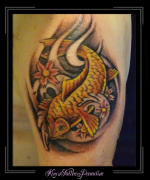 vis, karper bovenarm