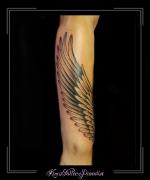 vleugel veren onderarm