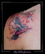 watercolor vogel