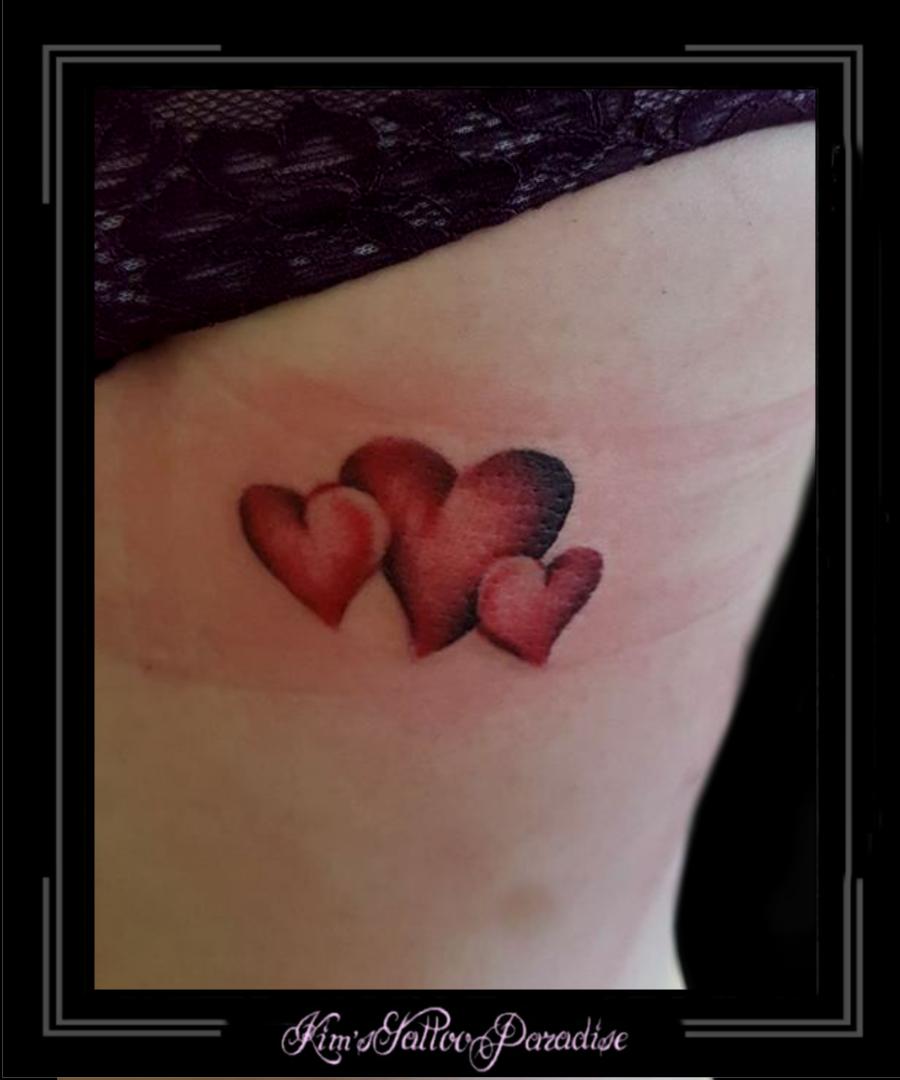 Heart Kims Tattoo Paradise