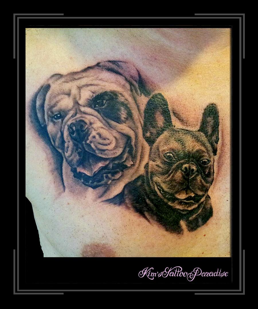 Portret Honden Kims Tattoo Paradise