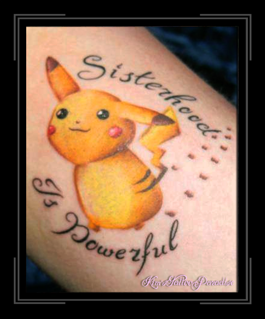 Pokemon Kim S Tattoo Paradise