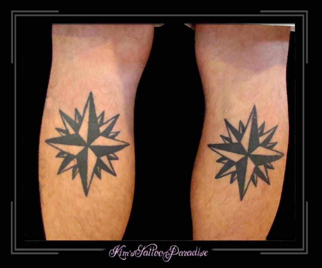 sterren op kuit | Kim's Tattoo Paradise Vanessa Paradis