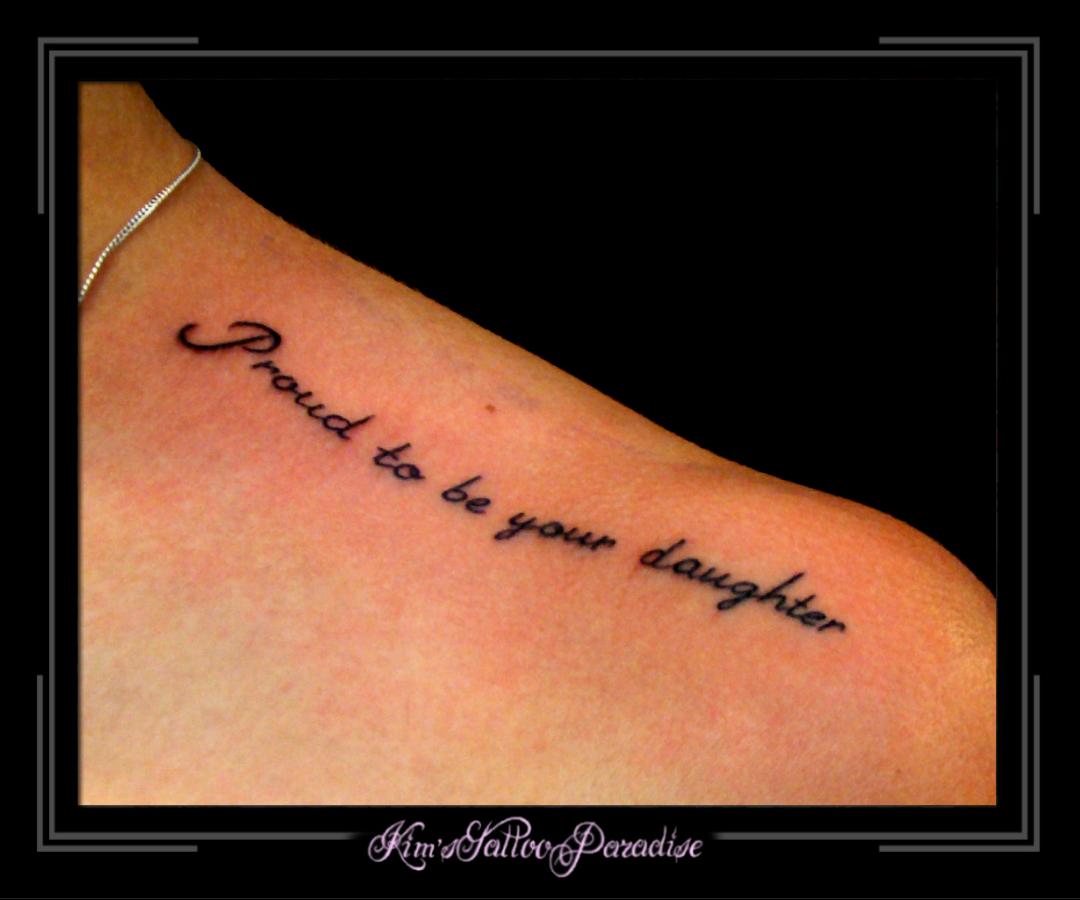Sleutelbeen Kim S Tattoo Paradise